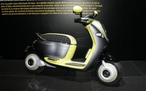 Mini Scooter E Concepts First Look - 2010 Paris Auto Show - Motor Trend