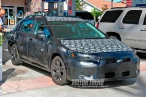 2017 Subaru Impreza Hatchback Spied with New Front End