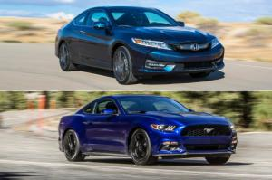 Accord Coupe vs. Mustang: 5 Reasons to Go Honda and 5 More to Get the Ford - Motor Trend
