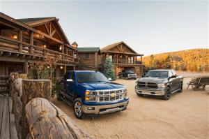 Comparison: 2015 Ford F-150 vs. Ram 1500 vs. Chevrolet Silverado