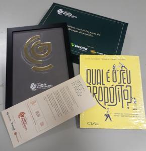 Neste ano, a comemoração começou diferente: a Rede Gazeta enviou um kit especial para os vencedores