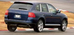 2003 Porsche Cayenne S Pictures, Steering & Handling - Road Tests - Motor Trend