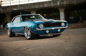 1969 Pro Touring Chevrolet Camaro - Rockin' Collaboration