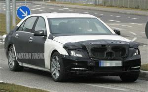 Mercedes-Benz S-Class - Spied Vehicles - Motor Trend