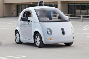 Google Self-Driving Cars First Ride
