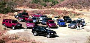 2003 SUV of the Year Testing - Motor Trend