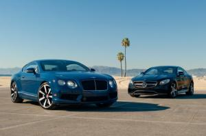 2014 Bentley Continental GT V8 S vs. 2015 Mercedes-Benz S63 AMG 4Matic