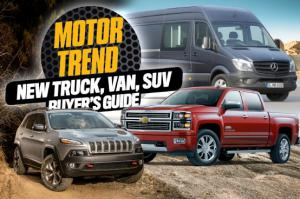 2014-2015 Trucks, SUVs and Vans: The Ultimate Buyer's Guide - Motor Trend