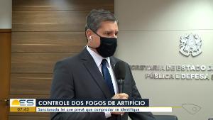 Secretário de Estado da Segurança Pública, Alexandre Ramalho, disse que o objetivo é que as polícias sejam informadas sobre o fluxo do material, mas ressaltou que isso não quer dizer que as autoridades vão criminalizar pessoas que façam a compra