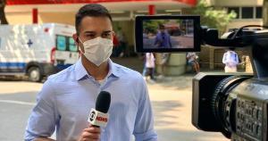 Além de realizar entradas ao vivo em telejornais nacionais, o jornalista também participará do rodízio de apresentadores aos sábados