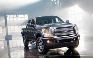 Ford Unveils Ultra-Luxe 2013 F-Series Super Duty Platinum
