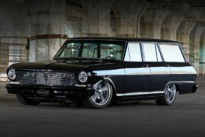 1964 Chevy Nova Wagon..saw this at a car show and fell in love ...