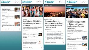 """O Google News Showcase, chamado """"Destaques"""" no Brasil, vai facilitar o acesso dos usuários a conteúdos mais relevantes e de forma mais organizada. A Gazeta poderá indicar as reportagens que irão para essa espécie de 'vitrine'"""