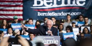 Sanders Leads Democratic Primary Field as Biden Slips, WSJ/NBC News Poll Finds