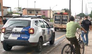 Crime aconteceu no início da tarde desta quinta-feira (25). O suspeito não foi preso. O caso é investigado pela Polícia Civil