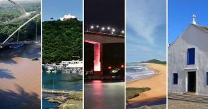 O próximo evento dos Passos de Anchieta só deve acontecer em 2022, mas A Gazeta separou pontos turísticos que estão no roteiro da caminhada para relembrar as belezas capixabas que fazem parte do trajeto