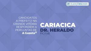 A Gazeta entrevistou o candidato a comandar Cariacica pelos próximos quatro anos. Saiba o que ele propõe para economia local, saúde, infraestrutura, educação e segurança pública. Veja o vídeo