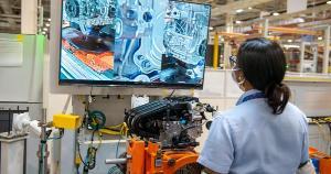 Em relação aos bens de consumo, a produção registrou queda de 1,1% na passagem de janeiro para fevereiro. Na comparação com fevereiro de 2020, houve redução de 3,2%