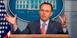 Mulvaney Says Holdup of Ukraine Aid Was Related to Trump's Demand for 2016 Election Probe
