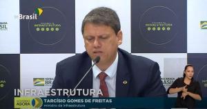 Ministro da Infraestrutura, Tarcísio de Freitas, também fala que negocia com as bancadas do Espírito Santo para conseguir recursos para terminar o Contorno do Mestre Álvaro