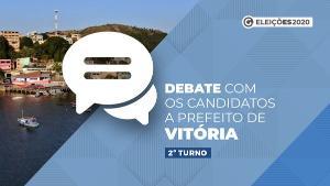 Lorenzo Pazolini (Republicanos) e João Coser (PT) vão para o embate a partir das 19h desta segunda-feira. Veja como assistir ou ouvir o confronto