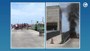 Uma das embarcações de terminal pesqueiro de Itaipava estava sem equipamento obrigatório — um tipo de rastreador usado para monitorar locais de pesca em alto-mar