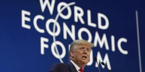 Trump Lauds U.S. Economy as He Opens World Economic Forum