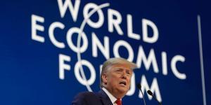 Trump Lauds U.S. Economy as He Opens World Economic Forum