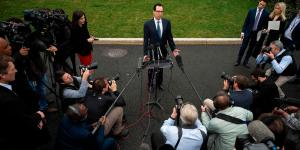 Steven Mnuchin Is Trying to Rescue the Economy From the Coronavirus