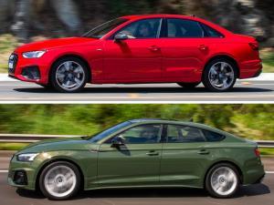 """É na versão """"top"""" do A4 e do A5 Sportback, a Performance Black, que ambos ostentam toda a sua categoria"""