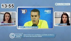 Apoiado por Audifax Barcelos nas eleições, Fabio disse em entrevista para A Gazeta que não concorda com tudo que o atual prefeito faz. O candidato ressaltou que, se eleito, será ele a comandar a cidade. Veja o vídeo