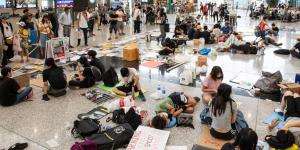 Worried Hong Kong Residents Are Moving Money Out as Protests Escalate