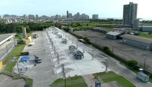 Com promessas de entrega para 2020, Departamento de Estradas de Rodagem trabalha para entregar o terminal até o dia 31 de dezembro. O local foi interditado em julho de 2018