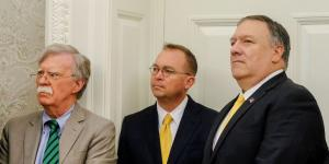 Bolton, Mulvaney on Opposite Sides of Pivotal Ukraine Debate