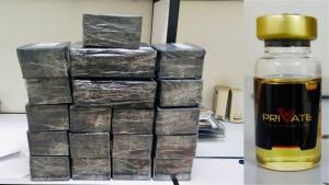 Área de inteligência dos Correios acionou a Polícia Federal nesta segunda-feira (30) após identificar caixas com conteúdo irregular. Ao checarem, os policiais encontraram ampolas e prenderam o homem em flagrante