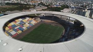Estádio localizado em Cariacica tem lotação máxima de 19.600 lugares. Doença que chegou ao Espírito Santo em fevereiro se alastrou para todas as regiões capixabas