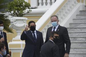 No cardápio, a tradicional moqueca capixaba. O vice-presidente da República está no ES para participar do evento Vitória Summit 2020, promovido pela Rede Gazeta