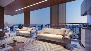 O Ventanas, planejado pela incorporadora Nazca e a construtora Abaurre, será localizado na Aleixo Neto, terá brises móveis na varanda gourmet que é uma verdadeira janela panorâmica para cidade