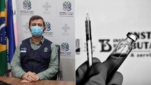 Secretário da Saúde aponta que, depois da autorização da Anvisa, ainda serão necessários mais alguns dias para que o governo federal partilhe as doses a serem encaminhadas aos Estados