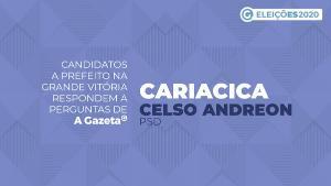 A Gazeta entrevistou o vereador e candidato a comandar Cariacica pelos próximos quatro anos. Saiba o que ele propõe para economia local, saúde, infraestrutura, educação e segurança pública. Veja o vídeo
