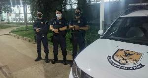 O caso aconteceu na tarde deste sábado (06). Os agentes Borges, Amorim e Correa utilizaram técnicas de primeiros socorros e reanimaram menino