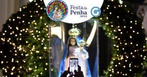 Imagem da Padroeira do Espírito Santo saiu para as ruas da Grande Vitória na noite deste sábado (10); reveja a transmissão