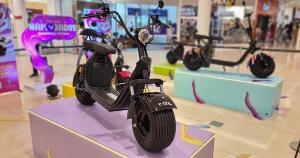 Centro de compras preparou promoção especial para os apaixonados: A cada R$ 250 em compras, o cliente ganha um número da sorte para concorrer a 10 Scooters elétricas