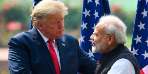 Trump, Modi Tout Deals on Helicopters and Gas as India Visit Winds Down