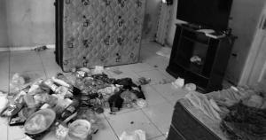 A insalubridade da casa em que as quatro crianças de Barra de São Francisco viviam é por si só uma violência, que alimenta as suspeitas de maus-tratos ainda mais aterradores