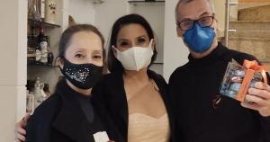 Liviane Pimenta acertou detalhes de espetáculo de dança que o trio fará em dezembro deste ano no Espírito Santo. Bailarina foi a primeira capixaba que dançou na Disney, em 2018