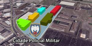 O novo complexo reuniria unidades e setores da PMES em um centro de apoio administrativo e operacional; imóvel ainda está sendo analisado pelo governo