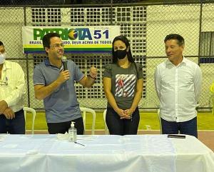 Candidatura do deputado estadual à Prefeitura de Vila Velha foi confirmada durante convenção e contou com presença de lideranças políticas de outros partidos. Vice pode vir do PTB