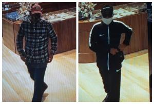 A polícia informou que os criminosos levaram uma pasta com dez cordões de ouro; eles se passaram por clientes para entrar no estabelecimento