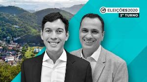 O vereador do partido Podemos, que disputa a prefeitura pela primeira vez, alcançou uma vantagem em relação ao atual prefeito, que tenta a reeleição, como mostra a pesquisa eleitoral para o segundo turno. Veja os números